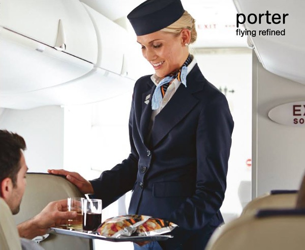 Porter flying redefined