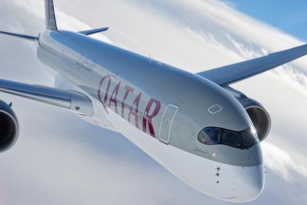 Qatar A350-900 F-WZFA A7-ALA (065)(Flt-Nose)(Airbus)(LRW)