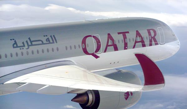 Qatar A350-900 F-WZFA A7-ALA (065)(Flt-wing)(Airbus)(LRW)