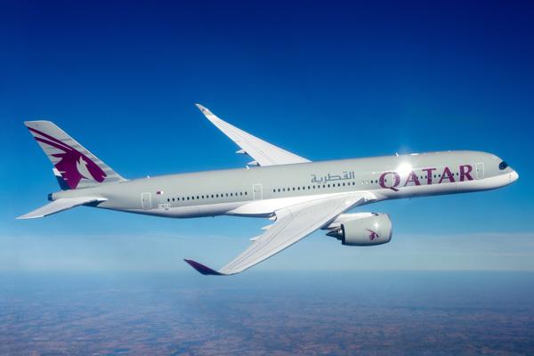 Qatar A350-900 F-WZFA A7-ALA (065)(Flt)(Airbus)(Flt)(LRW)