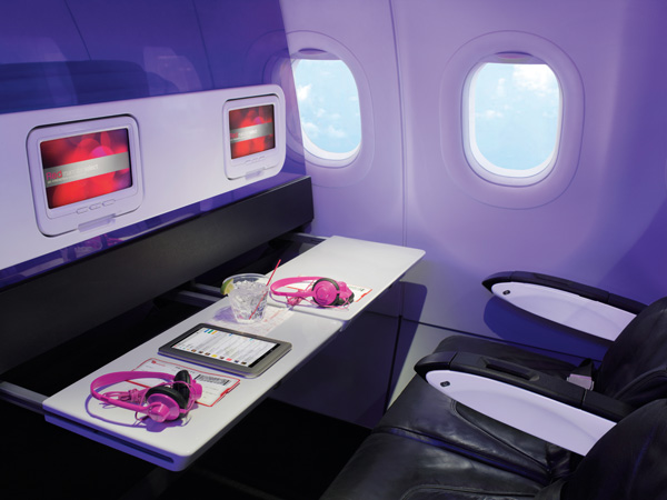 Virin America seat (Virgin America)(LRW)