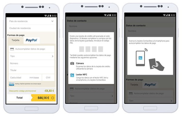 Vueling PayPal