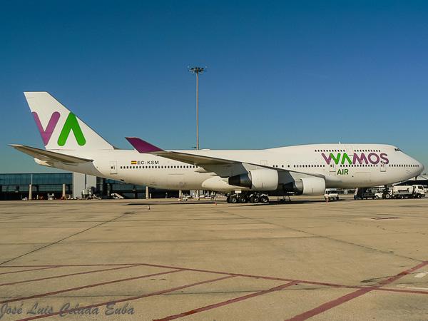 Wamos Air 747-400 EC-KSM (14)(Grd) MAD (Jose Luis Celada Euba)(LRW)
