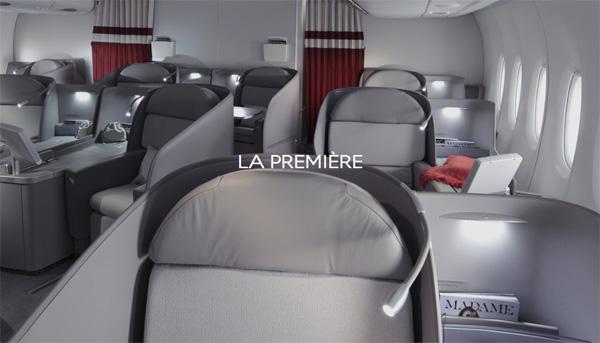 Air France La Premiere cabin (Air France)(LRW)