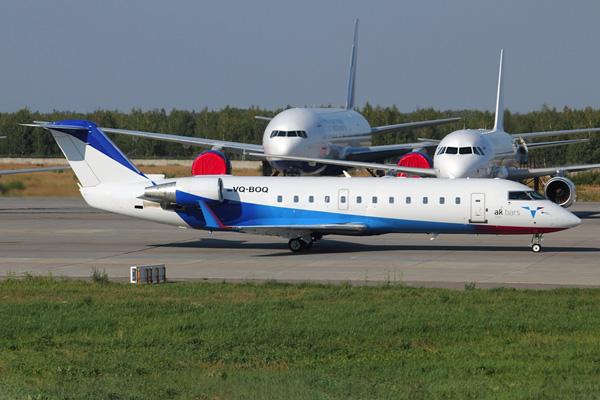 Ak Bars Aero CRJ200 VQ-BOQ (Grd) DME (ASC)(LRW)