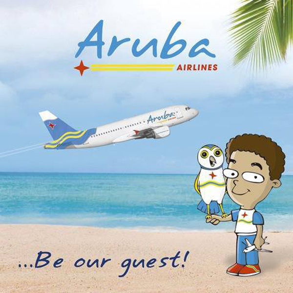 Aruba Airlines poster (Aruba)(LR)