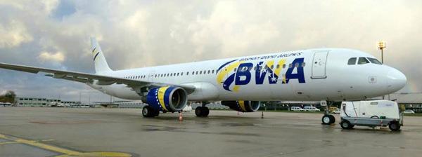 Bosnian Wand-BWA (Air Mediterranee) A321-100 F-GYAN (14)(Grd) QSV (BWA)(LRW)