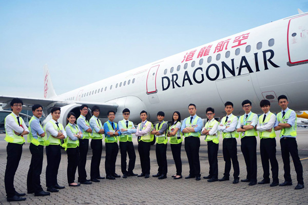 Dragonair and staff (Dragonair)(LR)