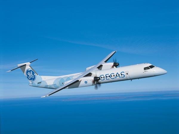 GECAS DHC-8-400 (Bombardier)(LR)