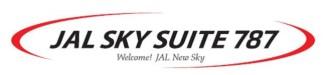JAL SKY SUITE 787 logo