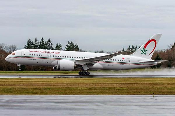 Royal Air Maroc 787-8 CN-RGB (08)(Ldg) PAE (Boeing)(LRW)