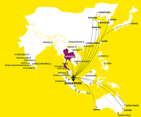Scoot 1.2015 Route Map