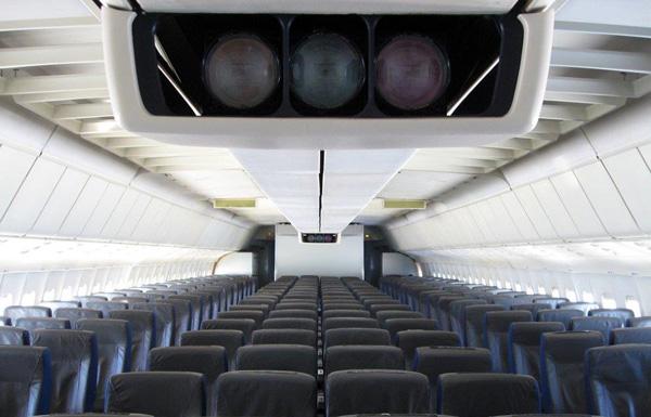 TriStar L-1011-385-3 N91011 cabin