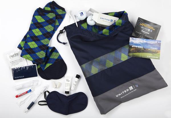 United BusinessFirst 2015 PGA amenity kit (LRW)