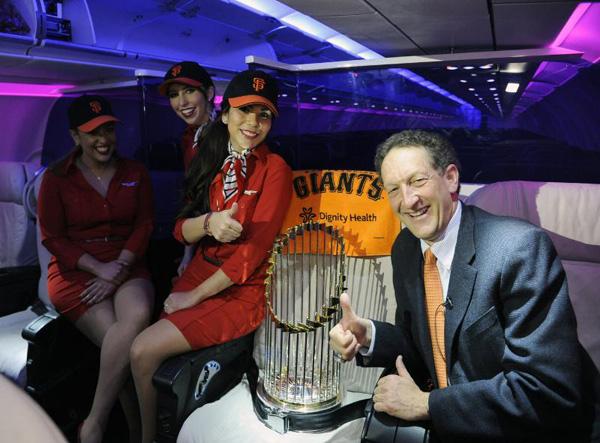 Virgin America Giants trophy
