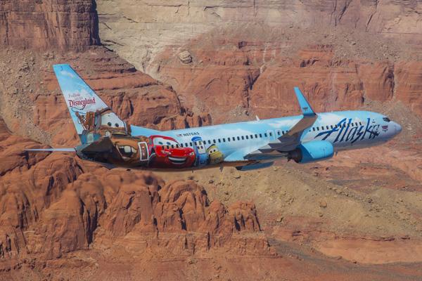 Alaska Airlines Boeing 737-800 Adventure