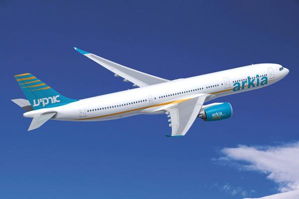 Arkia A330-900neo (99)(Flt)(Airbus)(LRW)