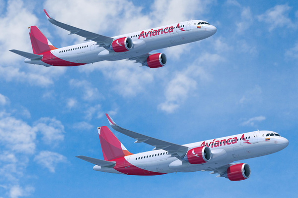 Avianca (Colombia) A320neo and A321neo (13)(Flt)(Airbus)(LRW)