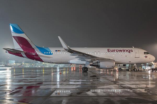 Eurowings A320-200 D-AIZQ (15)(Grd) HAM (Lufthansa)(LRW)