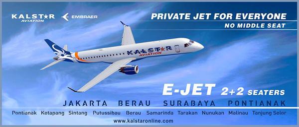 Kalstar ERJ 195 2+2 seaters banner