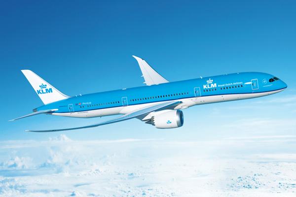 KLM 787-9 (14)(Flt)(KLM)(LRW)