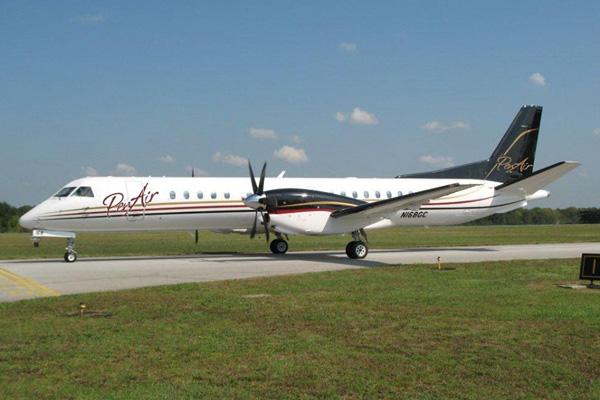 PenAir SAAB 2000 N168GC (11)(Grd)(PenAir)(LRW)