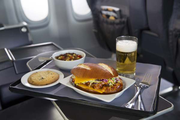 United Express premium food service (United)(LRW)