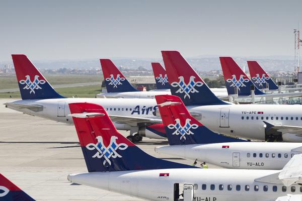 Air Serbia tails (Air Serbia)(LRW)