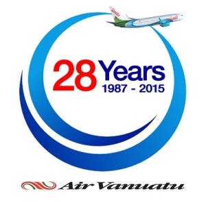 Air Vanuau 25 Years logo