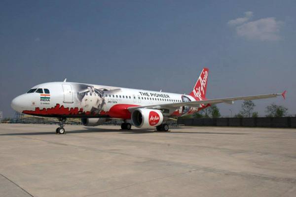 AirAsia (India) A320-200 VT-JRT (15-The Pioneer)(Grd)(AirAsia)(LR)