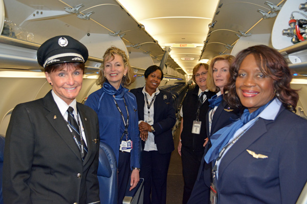 Connie Tobias and the Cabin Crew (JS)(LRW)