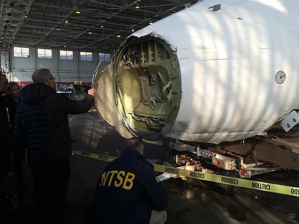 Delta 1086 NTSB investigators