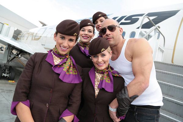 Etihad Airways Unveils A Fast And Furious Boeing 777