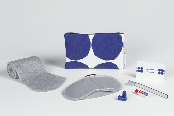 Finnair Marimekko Economy Comfort amenity kit (Finnair)(LRW)