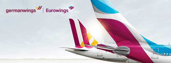 Germanwings-Eurowings banner