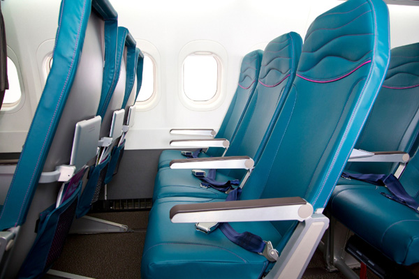 Hawaiian Airlines B717 Main Cabin Seat