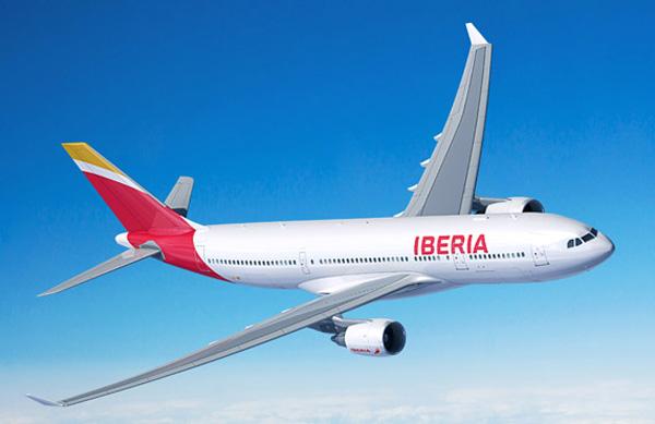 Iberia A330-200 (13)(Flt)(Iberia)(LR)