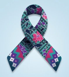 Malaysia MH 370 and MH 17 ribbon