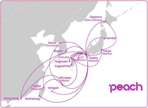 Peach 3.2015 Route Map