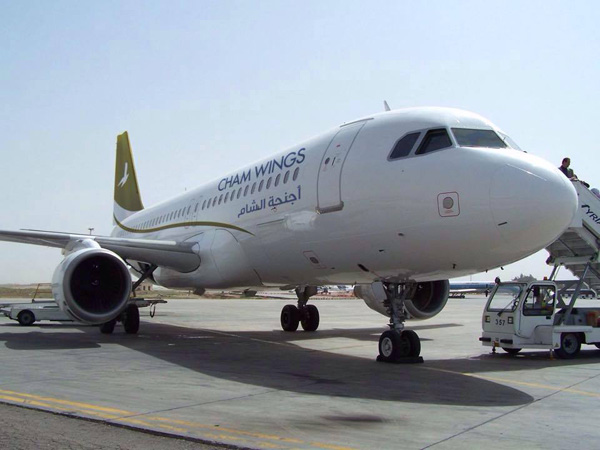 Cham Wings Airlines starts the Damascus – Kuwait City route