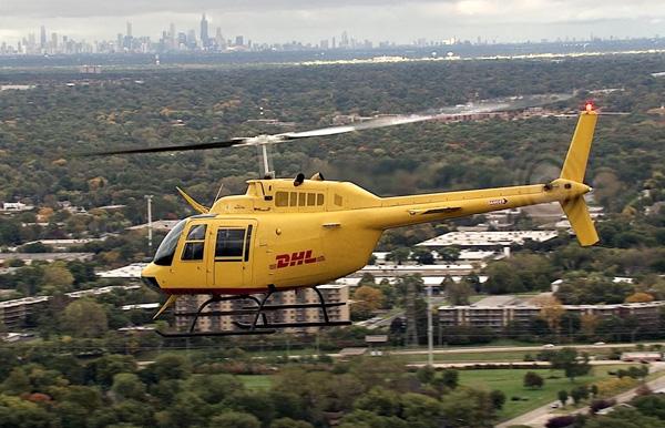 DHL (Helimotion) Bell 206B3 Jet Ranger (DHL)(LR)