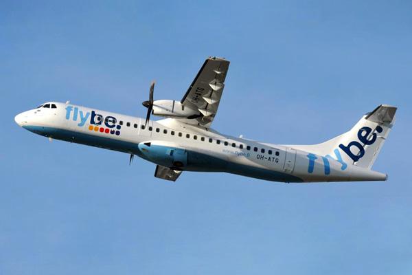 Flybe (Nordic) ATR 72-500 OH-ATG (02)(Tko) HEL (Flybe.fi)(LRW)