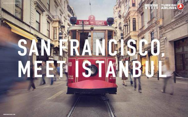 Turkish San Francisco meet Istanbul