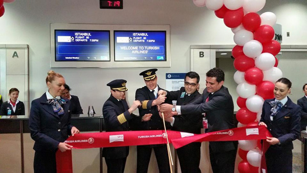 Turkish SFO ribbon cutting ceremony (LRW)