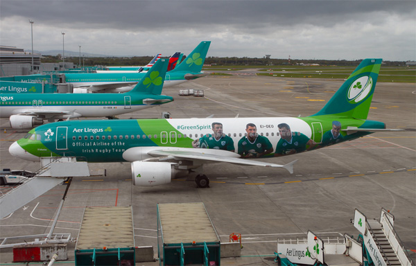 Aer Lingus A320-200 EI-DEO (15-Green Spirit)(Grd) DUB (MKY)(LRW)