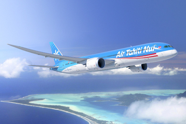 Air Tahiti Nui 787-9 Artwork