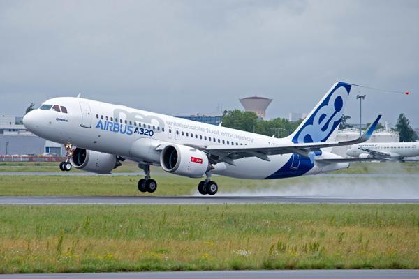Airbus A320neo WL F-WNEW (Tko) TLS (Airbus)(LRW)