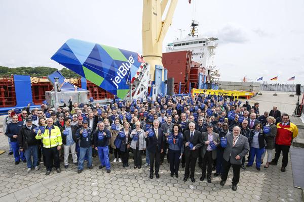 Airbus MOB First Components leaving Hamburg (Airbus)(LRW)