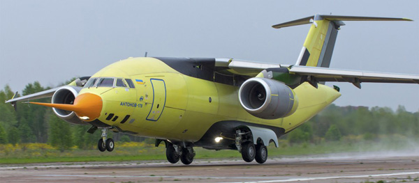 Silk Way Airlines signs a firm order for ten Antonov An-178 ...