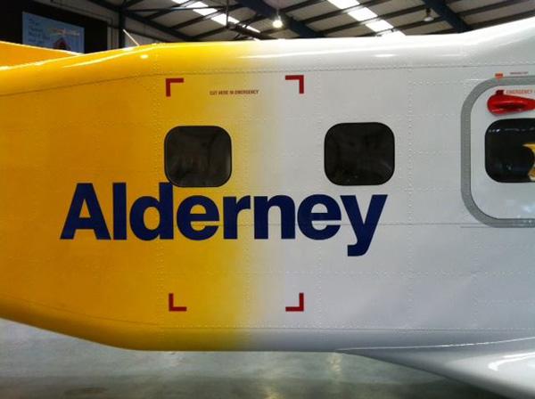 Aurigny Dornier 228 Alderney (Aurgigny)(LR)
